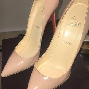 Christian Louboutin Nude Pump - Authentic